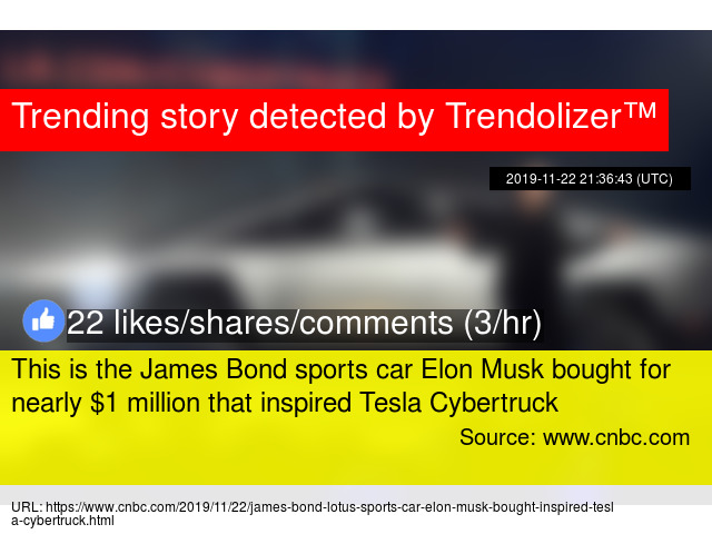 This Is The James Bond Sports Car Elon Musk Bought For