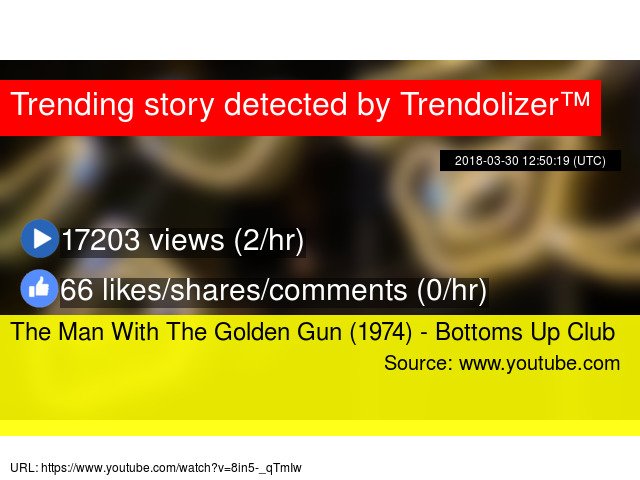 The Man With The Golden Gun 1974 Bottoms Up Club